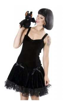 robe en velours Zoé