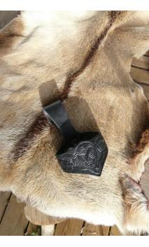 porte corne celtique