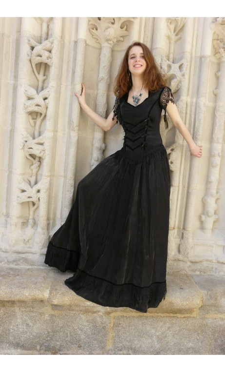Robe Eugenie Noire
